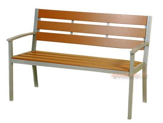 環保塑木公園椅